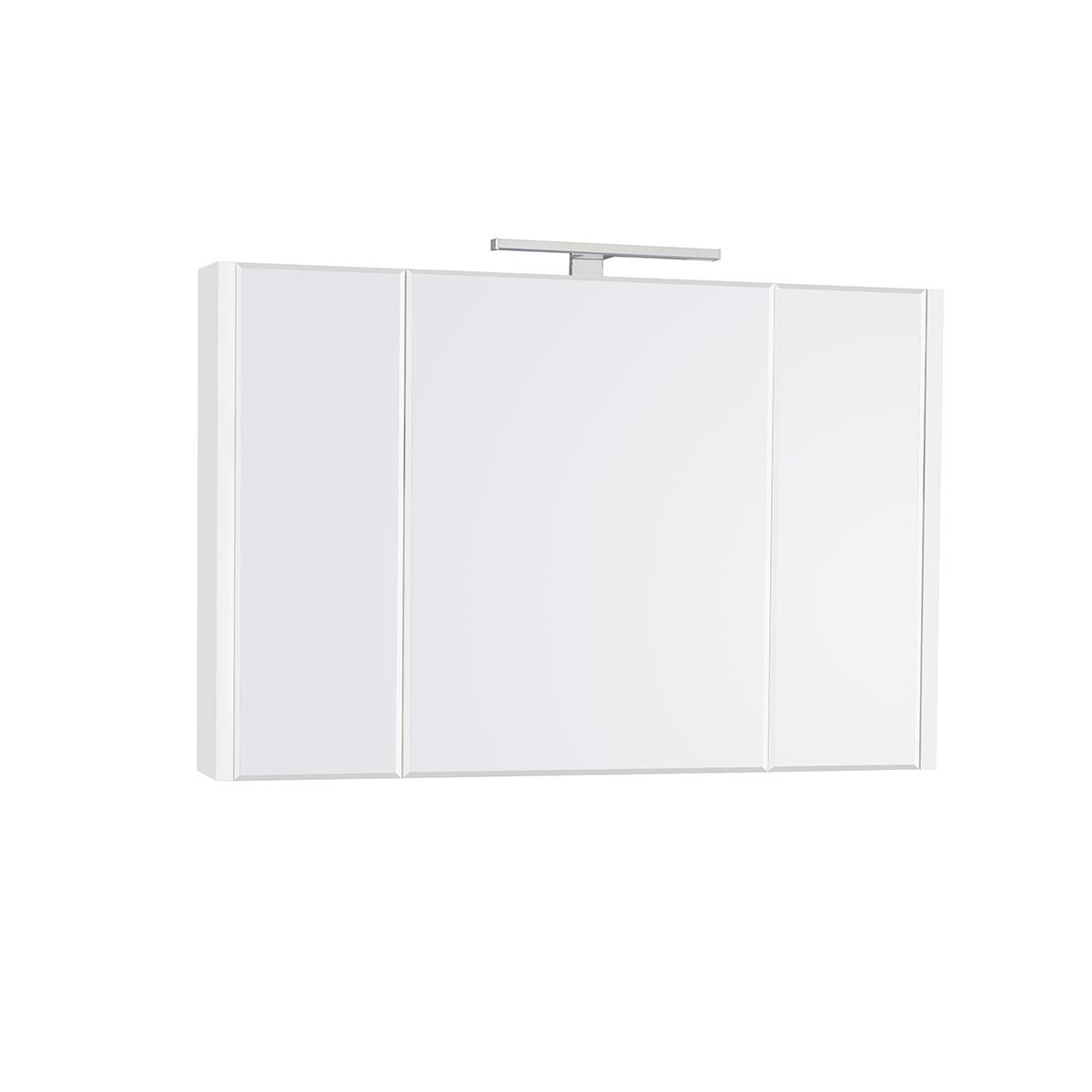 Фото - Зеркальный шкаф Roca Etna 100 см белый глянец 857305806 шкаф пенал roca etna 45 857303806 подвесной белый глянцевый