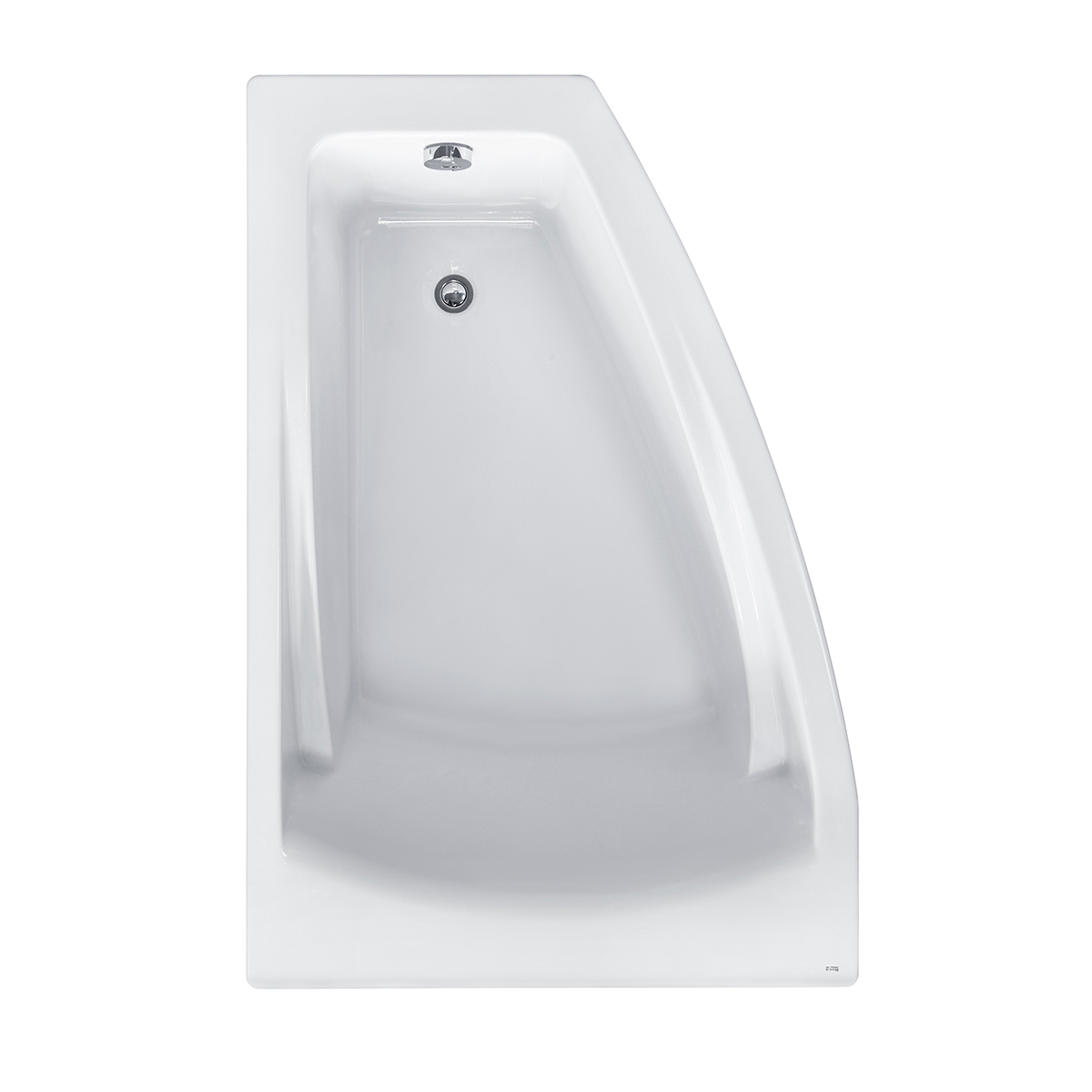 Ванна акриловая Roca Hall Angular 150х100 см, левая ZRU9302864