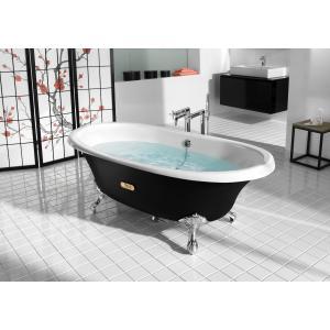 Ванна свободностоящая Roca Newcast черная, anti-slip 170x85 233650002