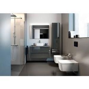 Комплект 3 в 1 Roca Inspira 80 см, дуб / затемненное зеркало 851080403GRP