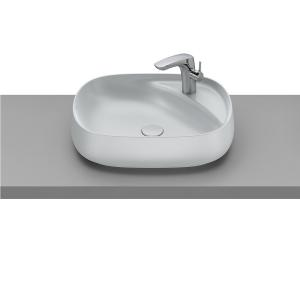 Раковина Roca Beyond 56х43 см, накладная, белый перламутр 3270B8630
