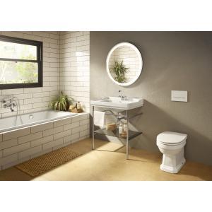 Смеситель для ванны Roca Carmen двухвентильный с душем, длина излива 14 см, 5A014BC00