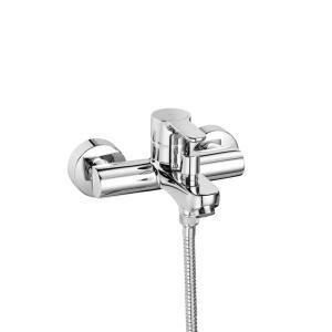 Смеситель для ванны Roca L20 с аэратором, длина излива 15,9 см, 5A0209C0M