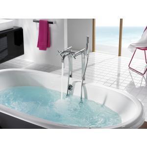 Смеситель Roca Loft для ванны-душа напольный 5A2743C00