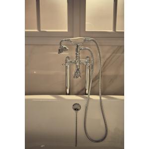 Смеситель для ванны Roca Carmen двухвентильный с душем 5A274BC00