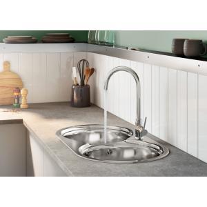 Смеситель для кухни Roca Etna с поворотным изливом, высота излива 20,2 см, хром 5A7B09C00