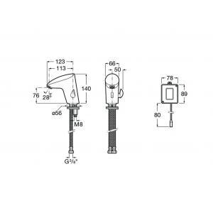Смеситель Roca М2-E - для раковины 5A5555C00
