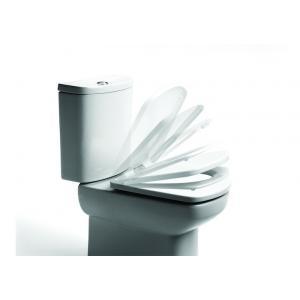 Крышка для унитаза Roca Dama Senso Compacto Soft Close, петли хром 801512004