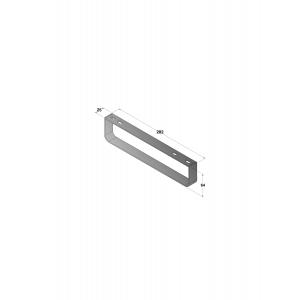 Полотенцедержатель для раковины Roca Meridian 816291001