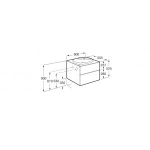 Комплект Roca Beyond тумба+раковина, 60 см 851356402