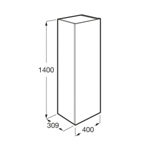Шкаф-колонна Roca Beyond 857237806