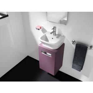 Тумба под раковину Roca The Gap, 45 см, фиолетовая ZRU9302743