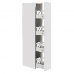 Шкаф-колонна Roca UP левый, белый глянец ZRU9303013