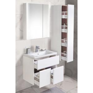 Зеркальный шкаф Roca UP 60 см левый белый глянец ZRU9303015