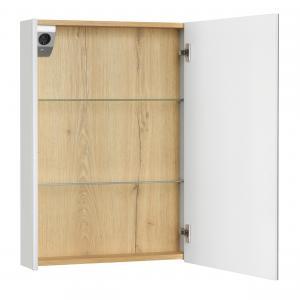 Зеркальный шкаф Roca UP 60 см правый белый глянец ZRU9303025