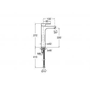 Смеситель для раковины Roca L20 5A3H09C00