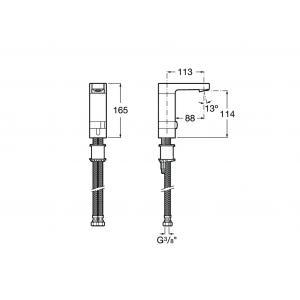Смеситель Roca L90 для раковины 5A5501C00