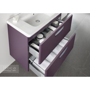 Комплект тумба + раковина Roca The Gap, 70 см, фиолетовая ZRU9302741 + 327471000