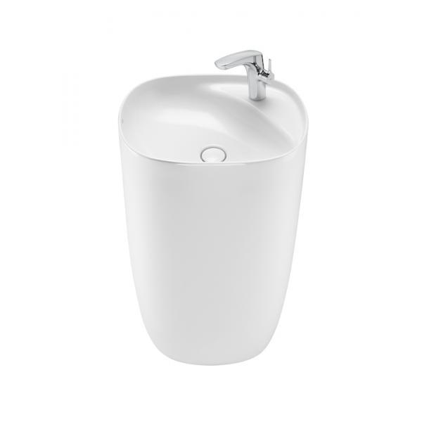 Раковина напольная Roca Beyond 50х42 см, цвет белый 3270B0000