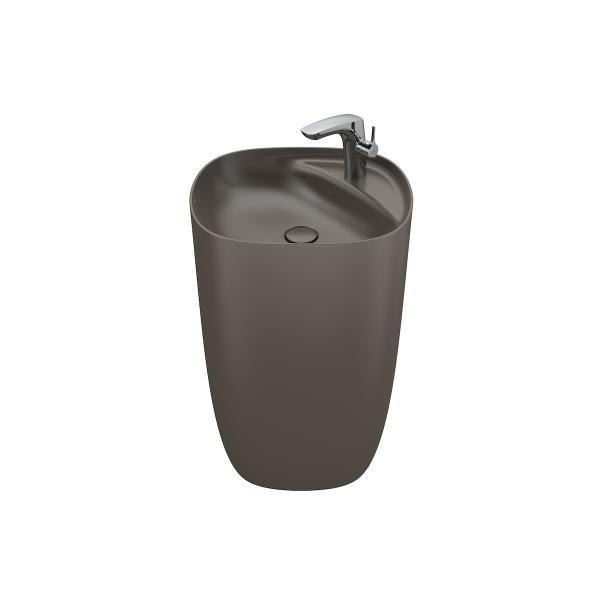 Раковина напольная Roca Beyond 50x42x87,5 см, цвет кофейный 3270B0660