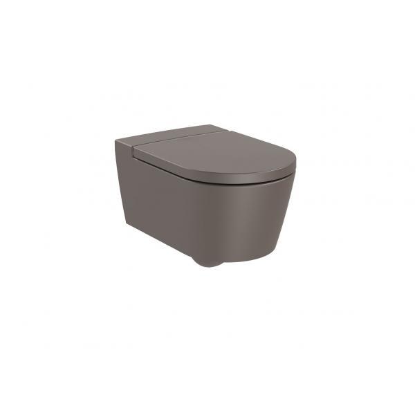 Чаша унитаза Roca Inspira Round Rimless подвесная, кофейный 346527660
