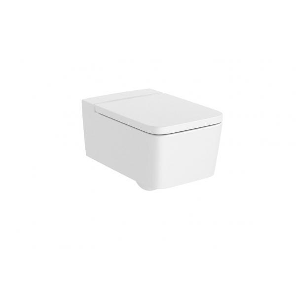 Чаша унитаза Roca Inspira Square Rimless подвесная, белый матовый 346537620