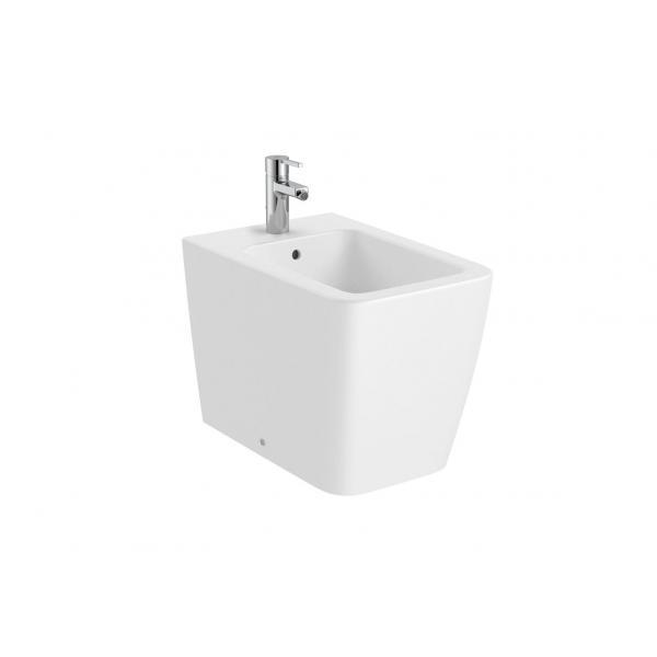 Биде Roca Inspira Square напольное, белый матовый 357537620