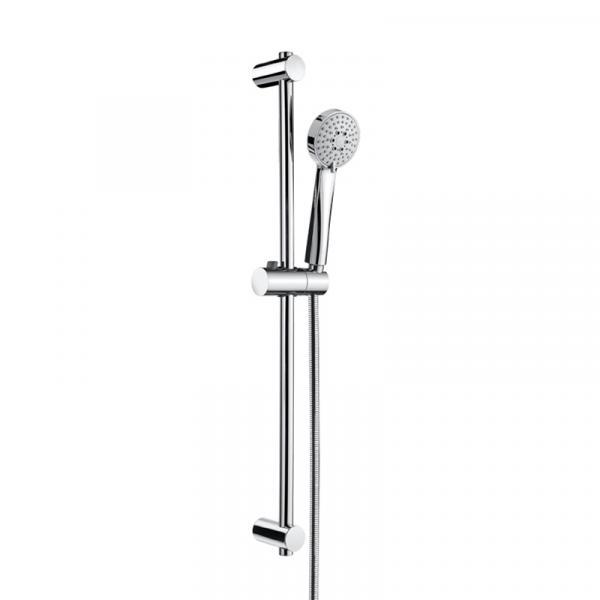 Душевой набор Roca Stella с ручным душем, гибким шлангом и штангой 70 см 5B1403C00