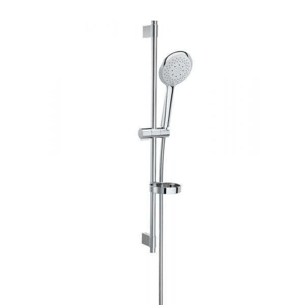 Душевой набор Roca Sensum Round с ручным душем 130/4, штангой 800 мм, мыльницей, шлангом 170 см 5B1407C00
