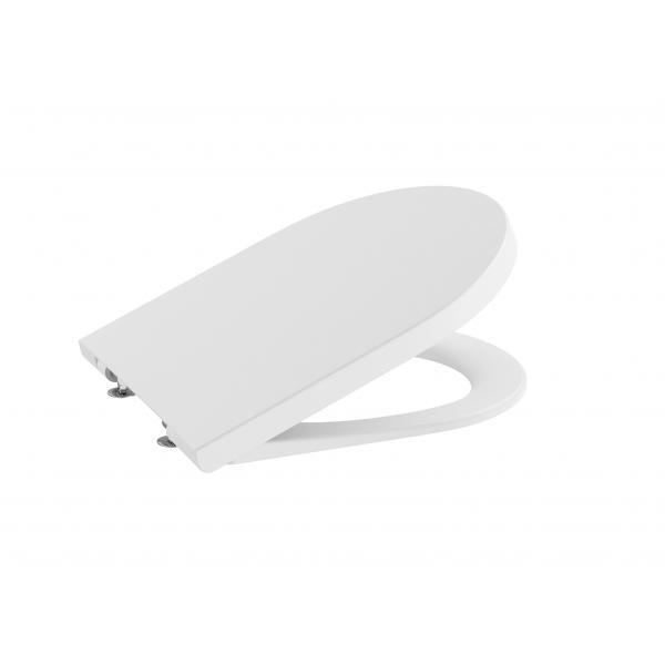 Крышка для унитаза Roca Inspira Round Soft Close, белый матовый 80152262B