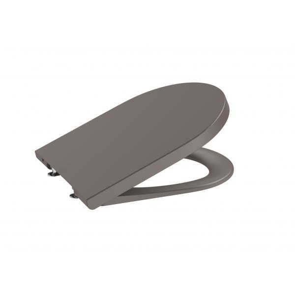 Крышка для унитаза Roca Inspira Round Soft Close, кофейный 80152266B