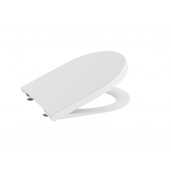 Крышка для унитаза Roca Inspira Round Soft Close, белый матовый 80152C62B