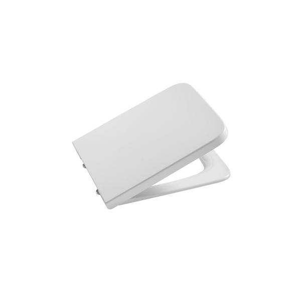 Крышка для унитаза Roca Inspira Square Soft Close, петли хром 80153200B