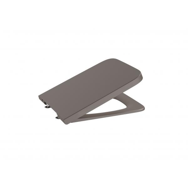 Крышка для унитаза Roca Inspira Square Soft Close, кофейный 80153266B