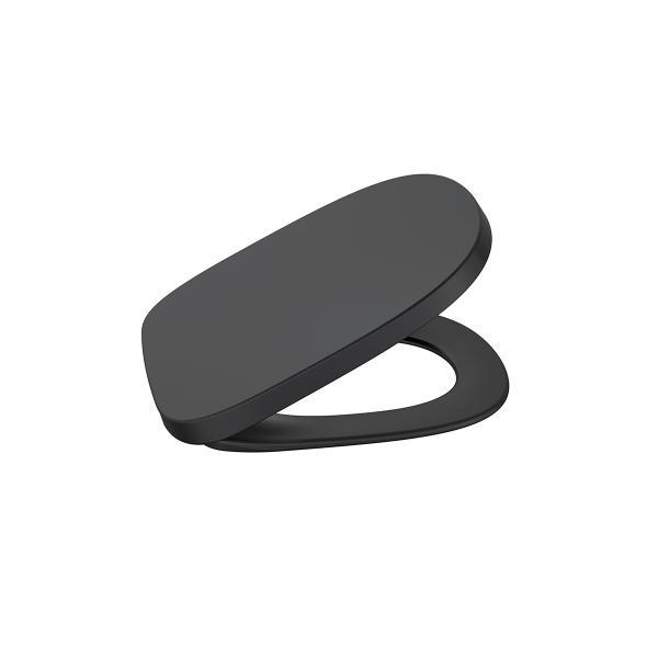 Крышка для унитаза Roca Beyond Soft Close черная 801B8264B
