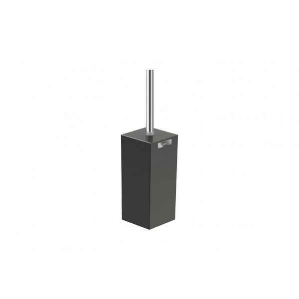 Ершик с подставкой напольный Roca Rubik, черный матовый 816852024