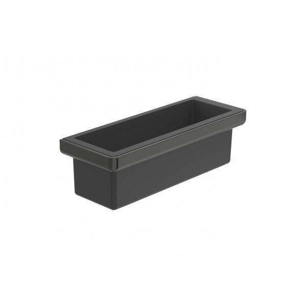 Контейнер настенный Roca Tempo, черный глянец 817028022