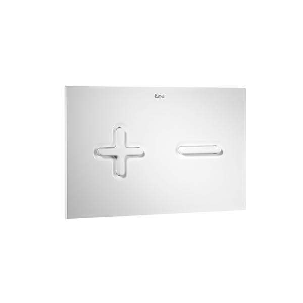 Клавиша для инсталляции Roca PL-6 двойной смыв, белая 890085000