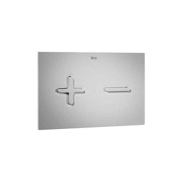 Клавиша для инсталляции Roca Duplo PL-6 двойной смыв, матовый хром 890085002