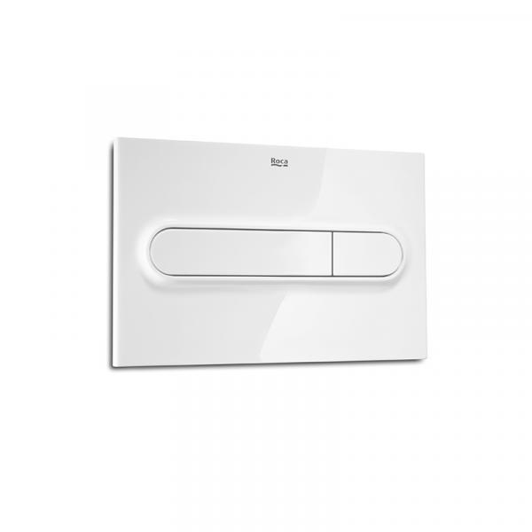 Клавиша для инсталляции Roca PL-1 двойной смыв, белая 890095000