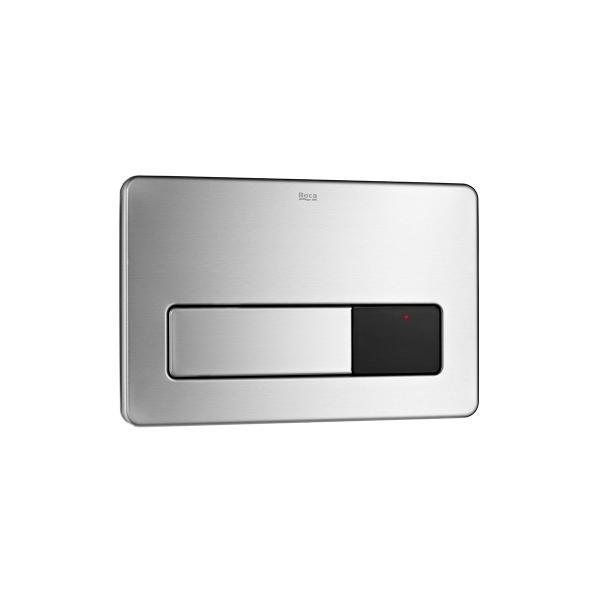 Клавиша для инсталляции Roca PL-3 электронная, двойной смыв, нержавеющая сталь 890097400