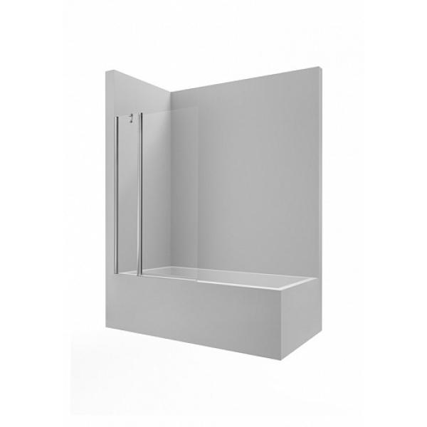 Душевое ограждение Roca Victoria B1HF 100X150 1 фиксированная панель + 1 распашная дверь, прозрачное M19510012
