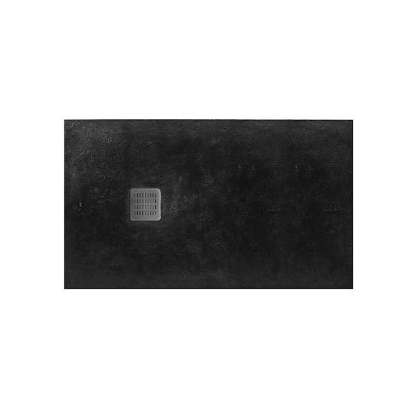 Душевой поддон Roca Terran 1000X900 мм, цвет Negro AP013E838401400