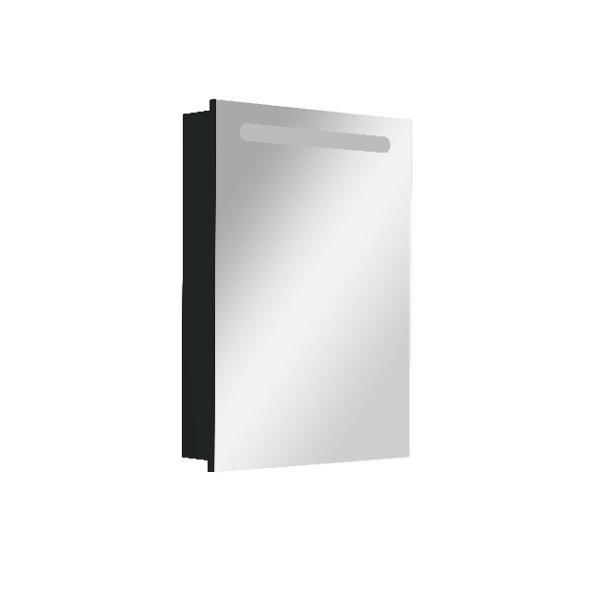 Зеркальный шкаф Roca Victoria Nord Black Edition 60 см левый ZRU9000098