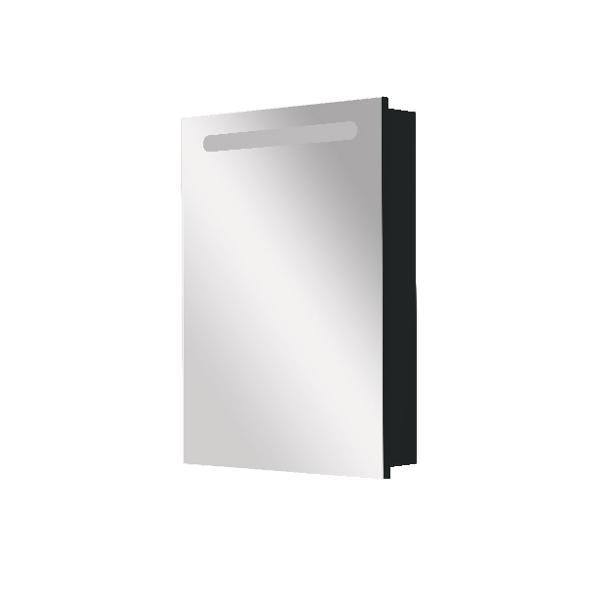 Зеркальный шкаф Roca Victoria Nord Black Edition 60 см правый ZRU9000099