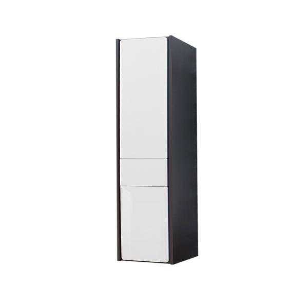 Шкаф-колонна Roca Ronda левый, белый глянец/антрацит ZRU9302966