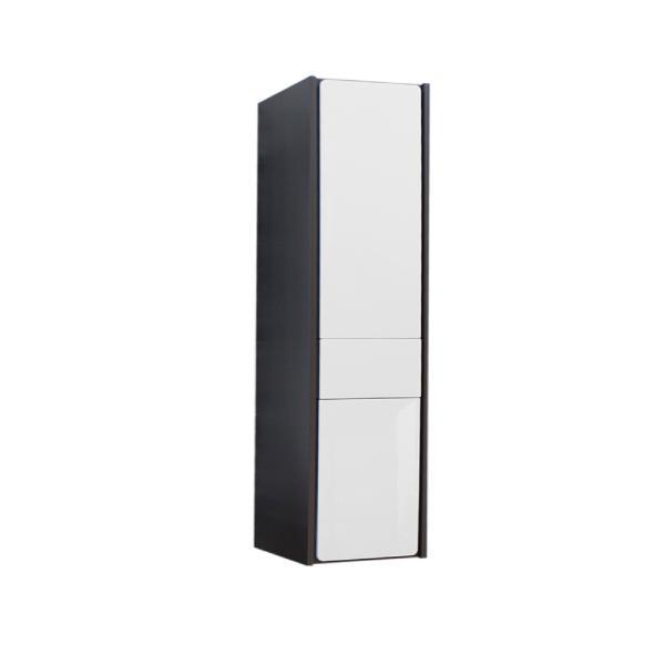 Шкаф-колонна Roca Ronda правый, белый глянец/антрацит ZRU9302967