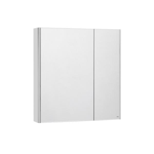 Зеркальный шкаф Roca UP 80 см белый глянец ZRU9303017