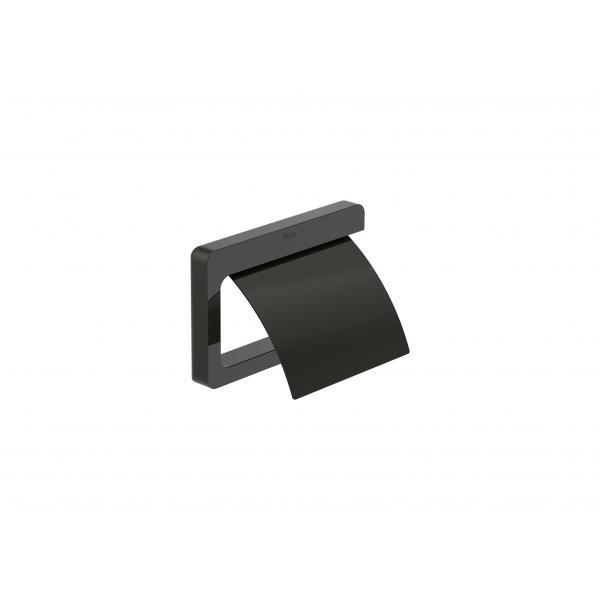 Держатель для туалетной бумаги Roca Tempo, черный глянец 817033022