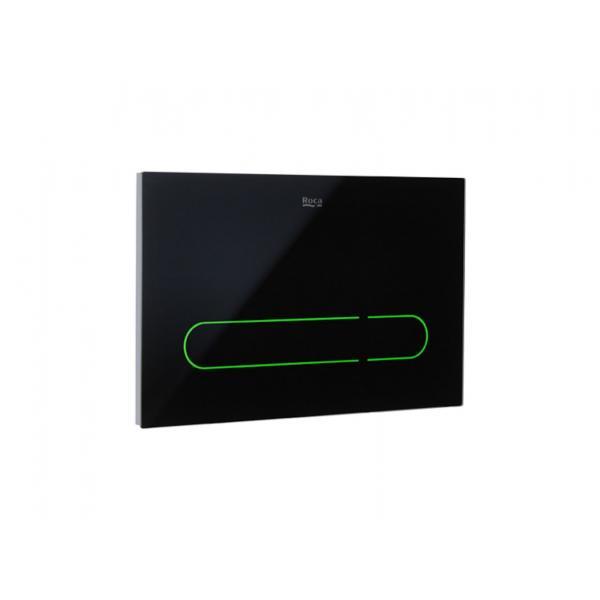 Клавиша для инсталляции Roca EP-1 электронная, двойной смыв, черная 890102008